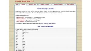 Сайт Number Study - помощник в изучении иностранных чисел
